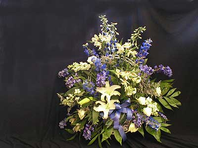 Funeral Basket - Click Image to Close